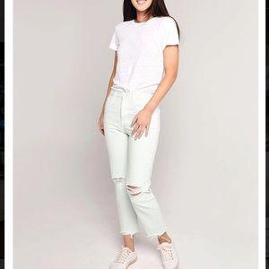 NWT J Brand Wynne High-Rise Crop Straight Jeans